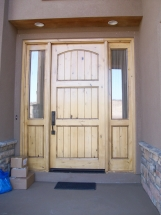 home remodel-exterior door