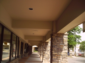 commercial painting-shopping mall