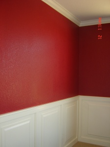 residential painting-dining room