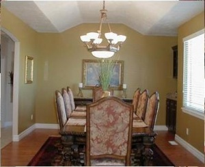 house painting-dining room